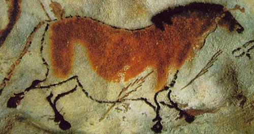 Лошадь. приблизительно 15 000-10 000 лет до н.э, Франция