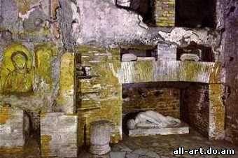 cripta di s.cecilia