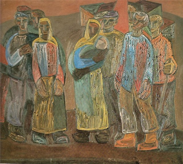 Леонардас Тулейкис. Земля крестьянам. 1969 г.