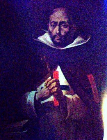 Иоганн Прехтель. Св. Миколас де Санктис - монах тринитор