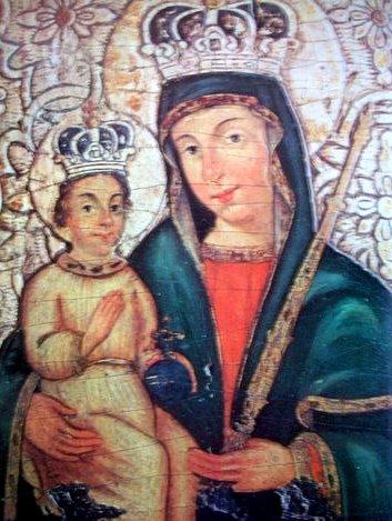 Мария с младенцем из Старого Тракая - неизвестный художник XVI в.