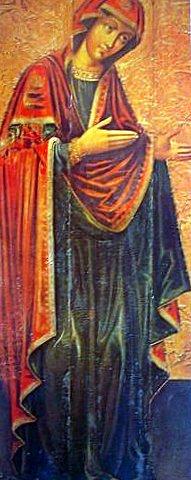 Мария - неизвестный художник XVII в.