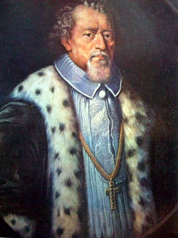 Джованни даль Монте Портрет Вильнюсского епископа князя Повиласа Альгимантантайтиса Альшенишкиса.