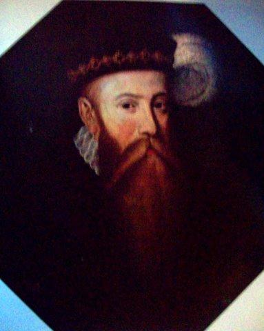 Петер Данкерс. Портрет короля Швеции Иоганна III