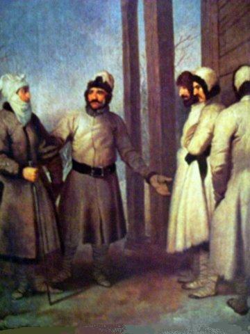 Пранцишкус Смуглявичюс. Литовские крестьяне