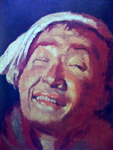 Канутас Русяцкас. Смеющийся итальянец. 1823