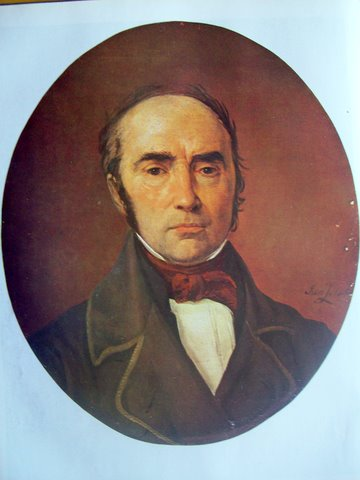 "Йонас Зенкявичюс. ""Симонас Даукантас"". 1850г."