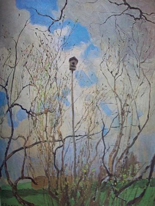 Фердинанд Рушиц. Весна. 1907.