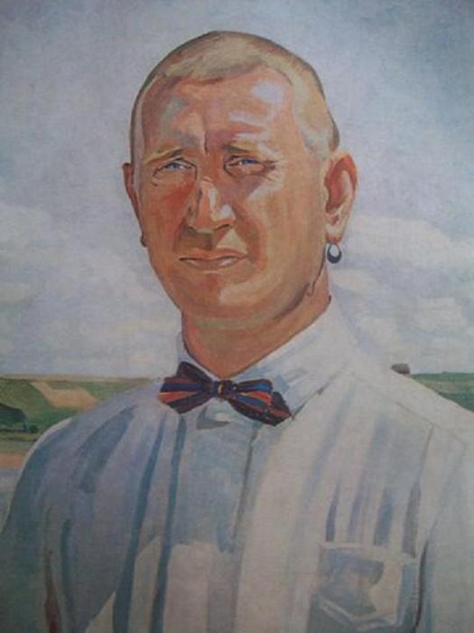 Йонас Шилейка. Портрет режиссера Б. Даугуветиса. 1927.