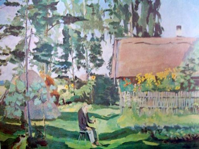 Йонас Шилейка. Житель Пагириса. 1926.