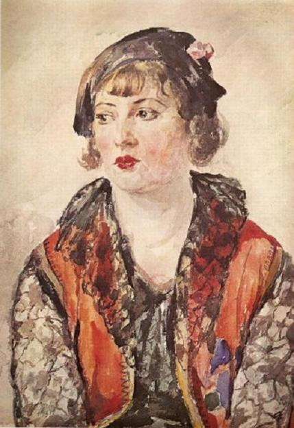 Каетонас Склерюс. Портрет. 1930 г.