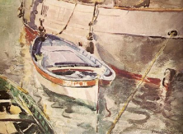 Каетонас Склерюс. Кораблик. 1931 г.