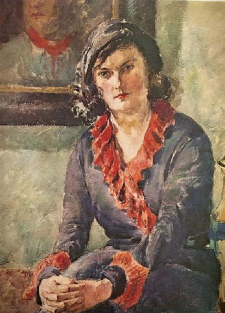 Каетонас Склерюс. Портрет Ю. 1931 г.