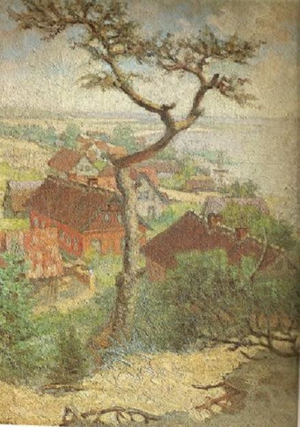 Йонас Бурачас. Нида. 1933 г.
