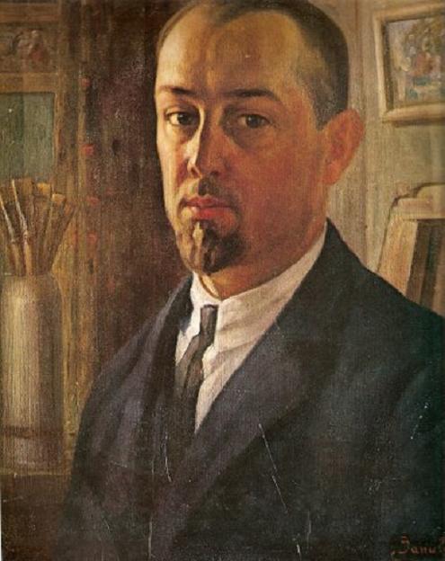 Йонас Янулис. Автопортрет.