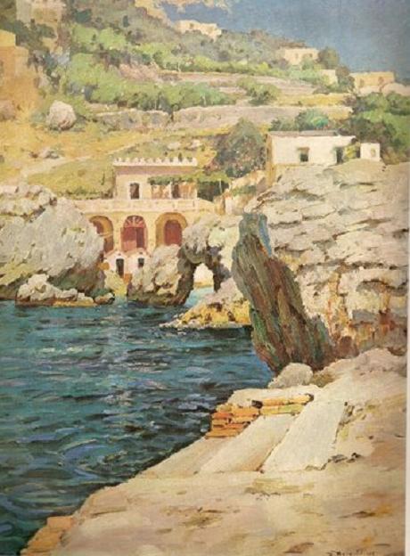 Йонас Мацкявичюс. Залив острова Капри. около 1921 г.