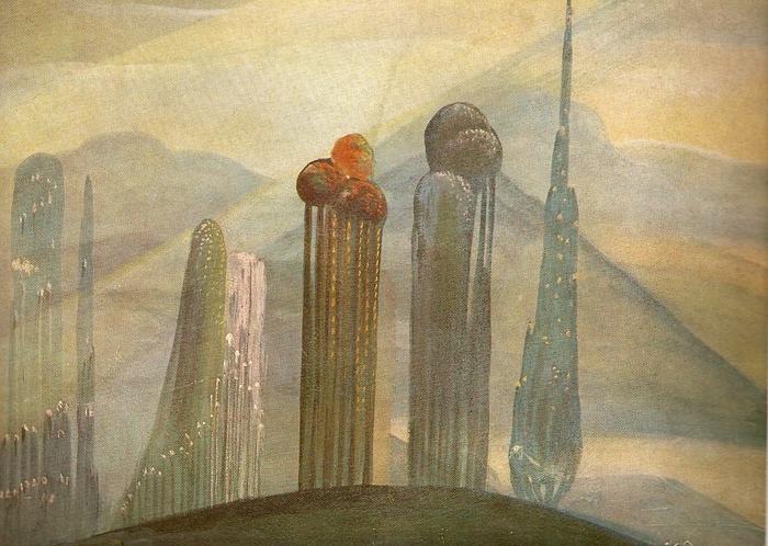 Казис Шимонис. Туманность. 1927 г.