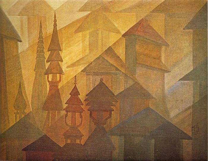 Казис Шимонис. Башни. 1928 г.