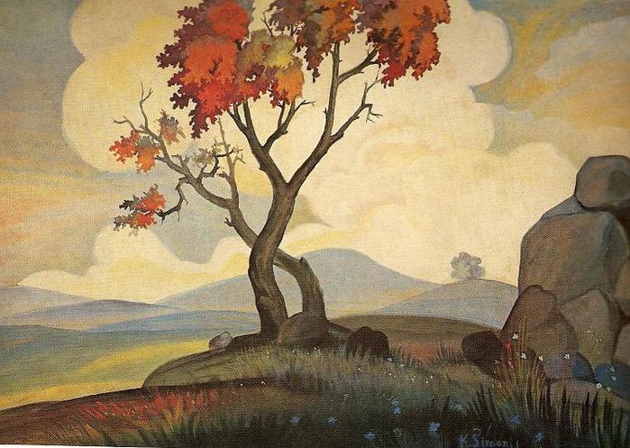 Казис Шимонис. Живые камни. 1935 г.