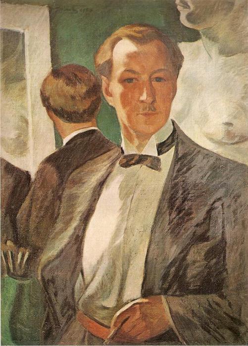 Юстинас Веножинскис. Автопортрет. 1936 г.
