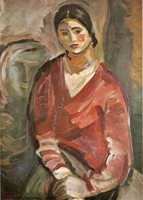 Антанас Гудайтис. Портрет женщины. 1932 г.