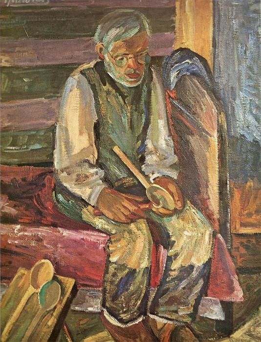 Антанас Гудайтис. Старый мастер. 1939 г.