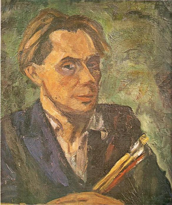 Антанас Самуолис. Автопортрет. 1936 г.