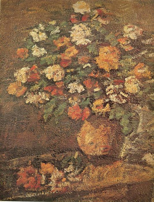 Владас Ейдукявичюс. Букет цветов в кувшине. 1934 г.