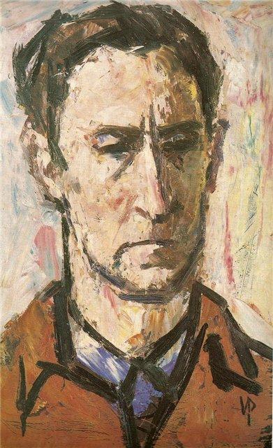 Витаутас Повилайтис. Скульптор В. Жуклис. 1960 г.