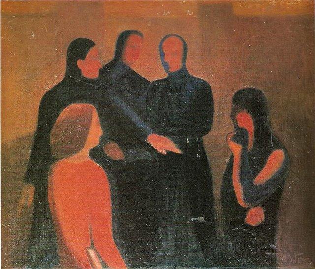 Валерия Остраускене. Дискуссия. 1968 г.