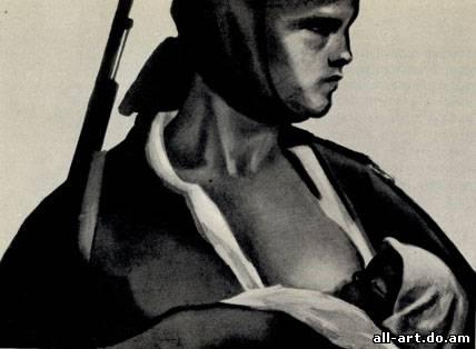 4. Б. Пpopоков. Мать. 1958 - 1959. Акварель, тушь, карандаш