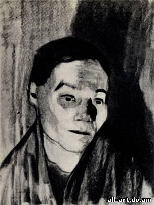 8. К. Колльвиц. Домашняя работница. 1906. Уголь
